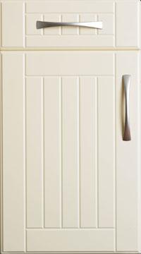 ... PVC Door   Shutter And Groove/Plain Cream ...